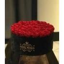 35-punase roosiga must SAMET karp+ TASUTA kuller Tallinnas