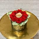 9- roosiga karp eukalüptiga