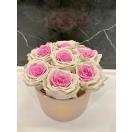 UUS! 7-ombre roosiga karp (roosa+valge)