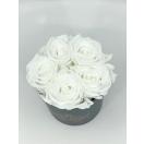 5-valge roosiga karp