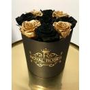 9-roosiga karp, must+kuldne