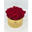 Punased roosid kuldses karbis