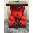 Punane roosikaru karbis 40cm