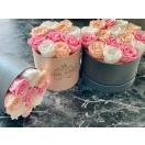 15-roosiga pastelne mix
